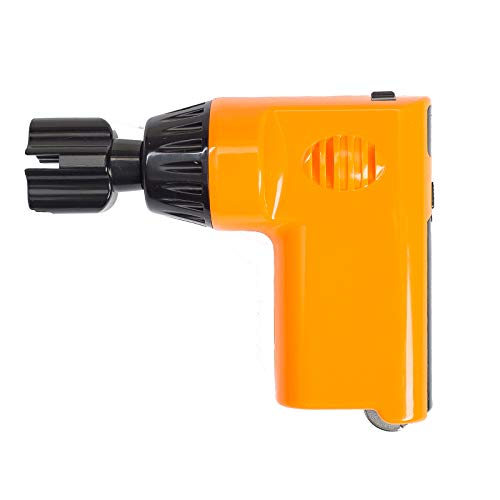 Guitar String Winder Electric Restringing Tool 3-in-1 Multifunctional Strings Cutter Bridge Pin Remover with USB Charge Cable for Banjo Guitar Bass Mandolin Ukelele (Orange)