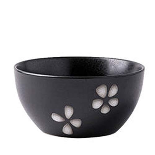 ZGHMXDD Porzellan Schale Einzelne Kreative Persönlichkeit Deep Mouth Reis Reis Schale Keramik Dessert Schale Home Verdickte Porridge Schale Geschirr