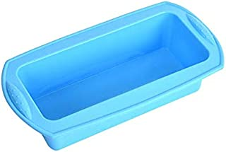 Rectangular Bread Loaf Pan Silicone Cake Pan Non-Stick Baking Mould Toast Bakeware Baking Mould Perfect for Cake Microwave...