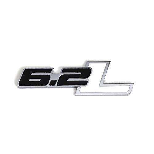 Auto 3D Metall Emblem Abzeichen 6.2L Logo Aufkleber für Ford Raptor F150 F250 Auto Heckkoffer Aufkleber Aufkleber...