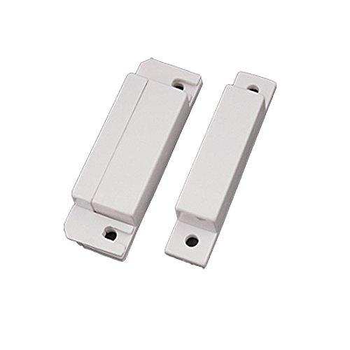 Sourcingmap a10091300ux0215 - Sensor magnético interruptor de aviso de entrada ventana de la puerta en casa
