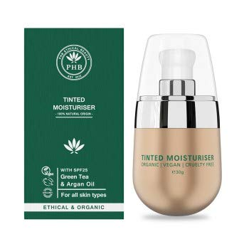 Phb Ethical Beauty Face Make-up Tinted Moisturiser Light Fluide Spf25 30gr