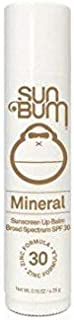 Sun Bum Mineral Sunscreen Lip Balm SPF 30 | Reef Friendly Broad Spectrum UVA/UVB Protection | Moisturizing Lip Balm With Zinc | Hypoallergenic, Paraben Free, Gluten Free | 0.15ozStick