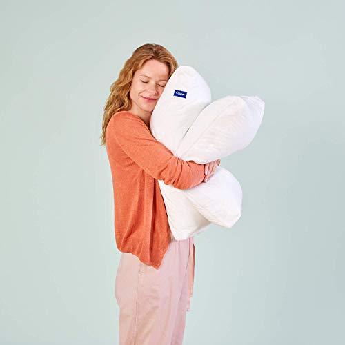 Casper Kopfkissen 40 x 80 – Kissen risikofrei Probeschlafen – Nackenstützkissen waschbar, atmungsaktiv und kühlend