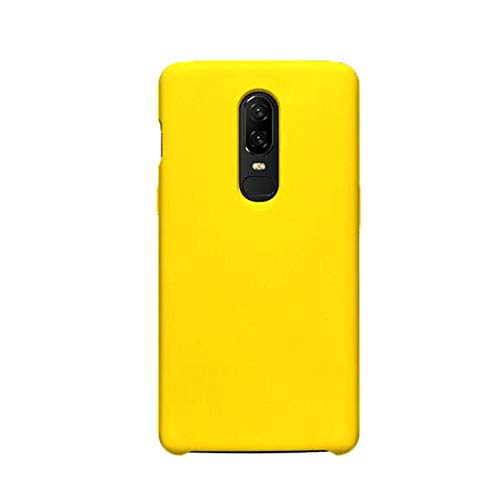Funda OnePlus 6/6T Teléfono Móvil Silicona Bumper Case y Flexible Resistente Ultra Slim Anti-Rasguño Protectora Caso para OnePlus 6/6T