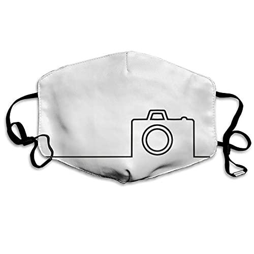 Foulard étanche avec 2 filtres pour appareil photo Noir et blanc