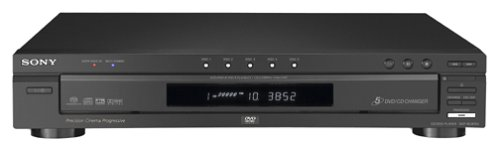 Affordable Sony DVP-NC875V/B 5-Disc DVD/CD/SACD Changer, Black