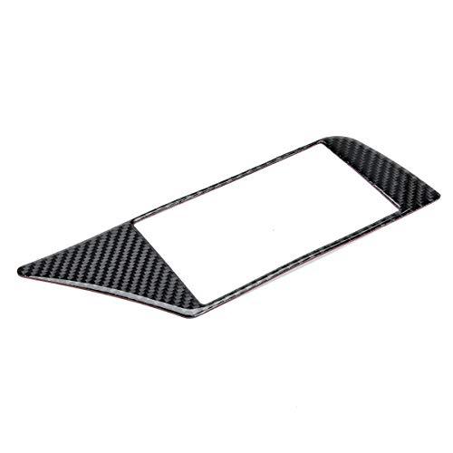 Viviance ZHVICKY Koolstofvezel GPS Navigatie Panel Frame Cover Auto Sticker Voor Audi A4 B8 2009-2016