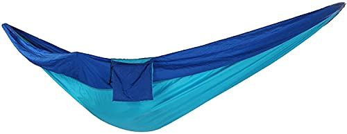 SUOMO Hamaca Hamaca, lágrima  Hamaca Resistente 2 Persona, para Camping al Aire Libre Picnic Interior (Azul)