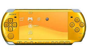 Sony Playstation Portable (PSP) 3000 Series Handheld Gaming Console System - Orange (Renewed)