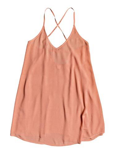Roxy Women's Be in Love Beach Cover-up Dress, Tawny Orange, X-Small