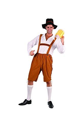 Volwassen kostuum Tiroler eenheidsmaat ca.