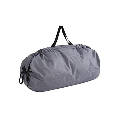 Chenguojian Bolsa de Lona, Adecuada para Viajes para Hombres y Mujeres, Gimnasio y Equipos Deportivos Bolsas/Bolsas de Almacenamiento (Color : Gray)