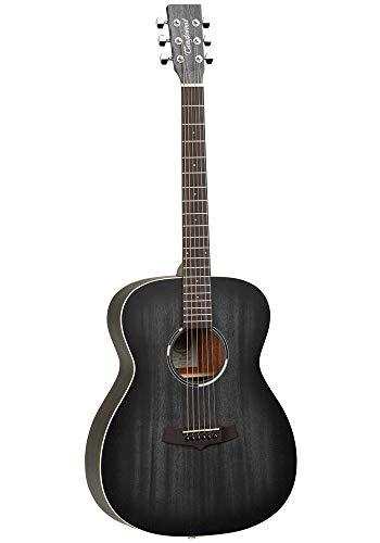 Tanglewood TWBBO Blackbird Folk Acoustic Guitar - Smokestack Black Satin
