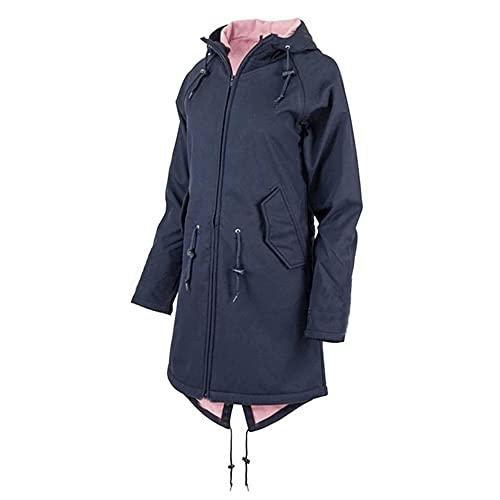 N\P Chaqueta de mujer abrigo chaqueta de transición impermeable ropa exterior