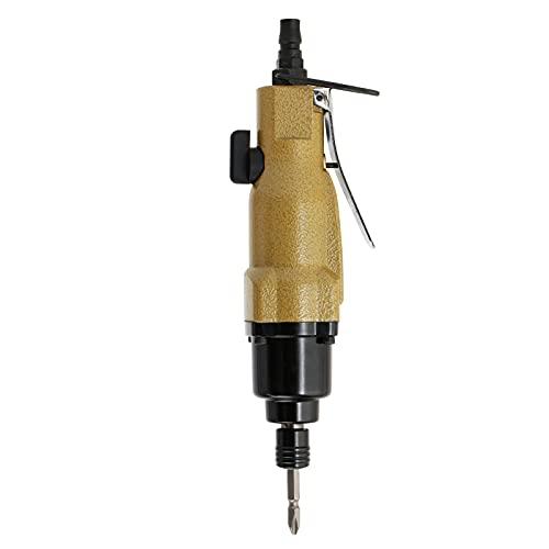 Destornillador neumático de vástago recto 8H Herramienta neumática Mango hexagonal de 1/4 pulg. Con punta de destornillador PH2 de doble cabeza de 65 mm de largo y gancho para máquina