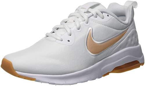Nike Wmns Air MAX Motion LW Se, Zapatillas de Gimnasia Mujer, Blanco (White/Guava Ice/Gum Light Brown 102), 35.5 EU