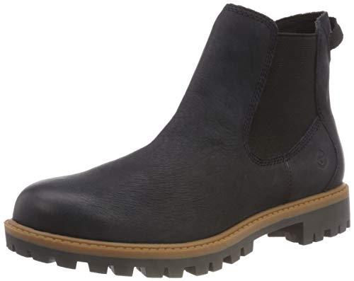 Tamaris Damen 25401-21 Chelsea Boots, Blau (Navy 805), 36 EU