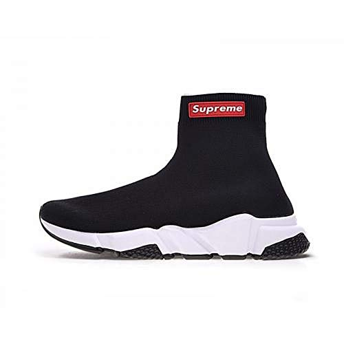 Balenciaga X Supreme Limited Edition Speed Trainer Black Imported Sneakers for Men (42 Euro)