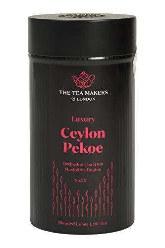 The Tea Makers of London exquisiter Ceylon Pekoe schwarzer Tee lose Blätter von prämiertem Teeshop Geschenkidee, 1er Pack (1 x 125 g)