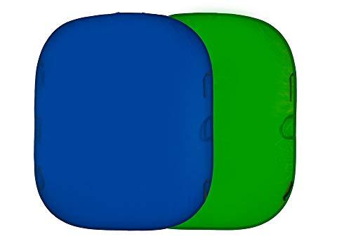 Lastolite Chromakey - Fondo (1.5 x 1.8 cm) Azul/Verde