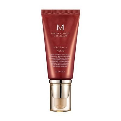Missha M Perfect Cover BB Cream SPF 42 # No. 21 Light Beige 50 ml/1.7oz