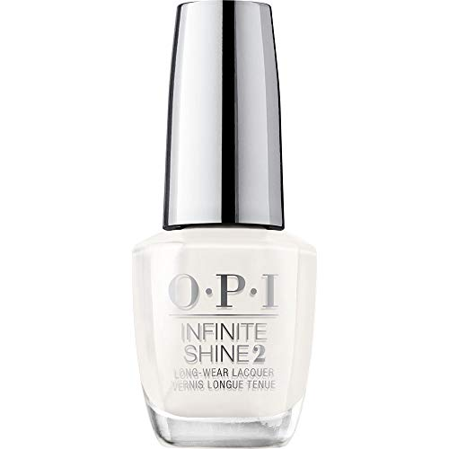 OPI Nail Polish, Infinite Shine Long Lasting Nail Polish, Funny Bunny, White Nail Polish, 0.5 Fl Oz