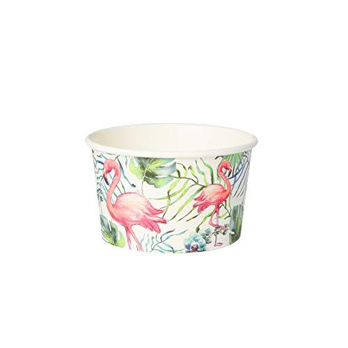 Greenbox - Set di 50 bicchieri riutilizzabili per gelato, dessert, finger food, antipasti, snack, 125 ml