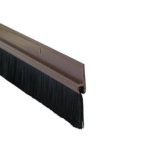 Stormguard 02SR0200838B - Burlete para puerta, color marrón