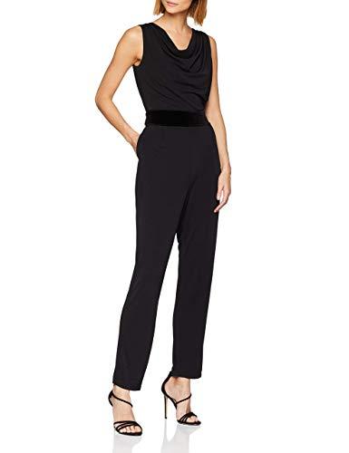 ESPRIT Collection ESPRIT Collection Damen 118EO1L003 Jumpsuit, Schwarz (Black 001), Medium