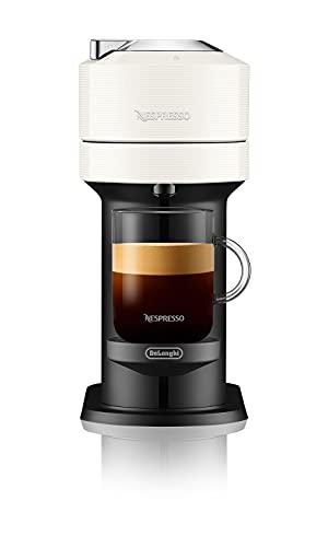 De'Longhi Nespresso Vertuo Next ENV120.W - Macchina per caffè espresso a capsule, 1500W, bianco