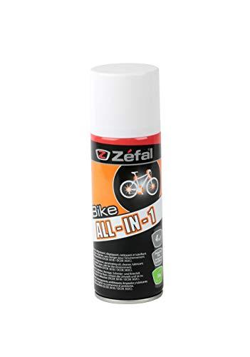 ZEFAL All in One Dégraissant/dégrippant/nettoyant/lubrifiant vélo Cyclisme, Orange, 150 ML