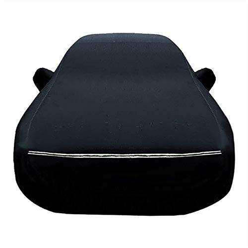 ZYuan Impermeabile Telo Copriauto Compatibile con Audi Oxford Telo Auto 100% Impermeabile Traspirante AntiGraffio Resistente UV Antipolvere (Color : Black, Size : RS6 Avant)