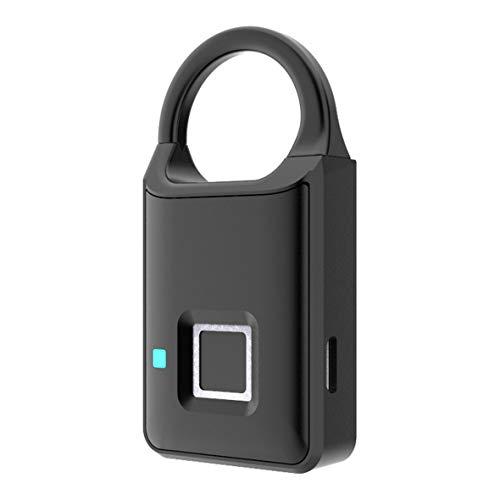 Cosye P50 Candado Inteligente de Huellas Dactilares Sin Llave USB Recargable Desbloqueo rápido Cerradura de Puerta Aleación de Zinc Metal Chip de Desarrollo automático