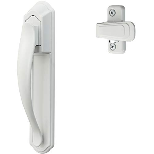 Ideal Security Inc. SKDXW DX Pull Handle Set for Storm and Screen Doors Easy Upgrade, White