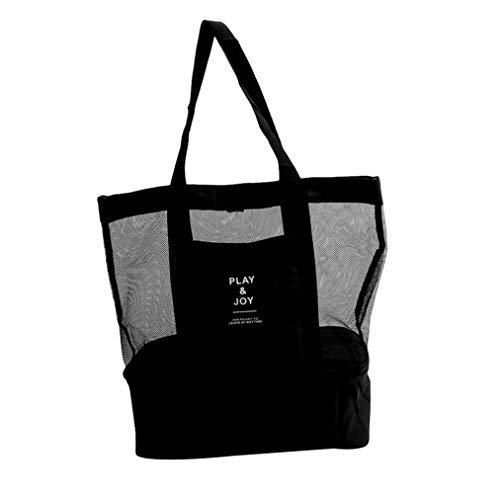 mesh beach bag picnic bag