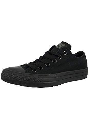 Converse Chuck Taylor all Star Low Black Canvas Trainers-UK 4.5