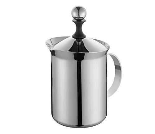 Cilio Cappuccino Creamer Classic 6T, Edelstahl, Silber, 800 ml