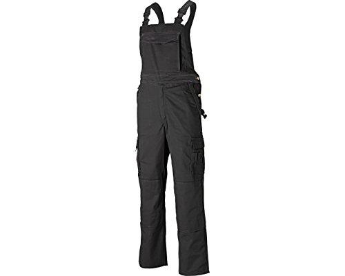 Dickies Industry 300 Latzhose, robuste Arbeitshose mit Knieschonern, breite Träger mit Stretch, viele Taschen, regular fit, Größe: 44 - 64,...