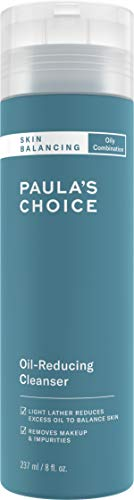 Paula's Choice SKIN BALANCING Oil-Reducing Cleanser with Aloe, Face Wash for Oily Skin & Large Pores, 8 Ounce