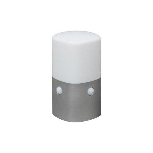 【まとめ 2セット】 アイリスオーヤマ 屋外センサーライト スタンドタイプ 角型 (電球色) OSL-ML2K-WS