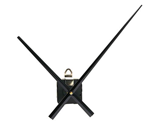 Youngtown 12888 High Torque Quartz Clock Movement Replacement Parts with 312 mm/ 12.3 Inch Long Spade Hands