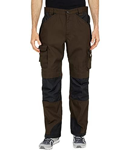 Caterpillar Men's Trademark Pant (Regular and Big & Tall Sizes), Dark Earth/Black, 40W x 34L