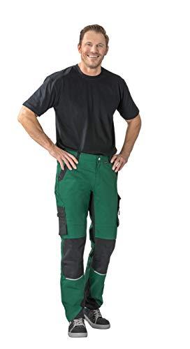 Planam Norit Herren Bundhose, Farbe: Grün/Schwarz, Größe: 52