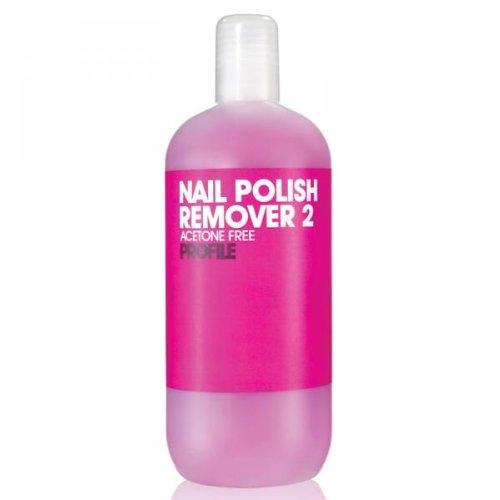 Salon System Profiel Pink Nail Polish Remover 2 aceton gratis voor gemodelleerde en kunstmatige nagels 500 ml