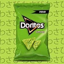 Salgadinho Doritos Wasabi 48g 4 pacotes