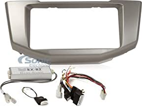Beat-Sonic Stereo Installation Kit for Lexus RX Vehicles (RX-82) Double-DIN Dash Kit and interface adapter for Select 2004-2009 Lexus RX Vehicles with factory nav & MarkLevinson or Lexus Premium Sound