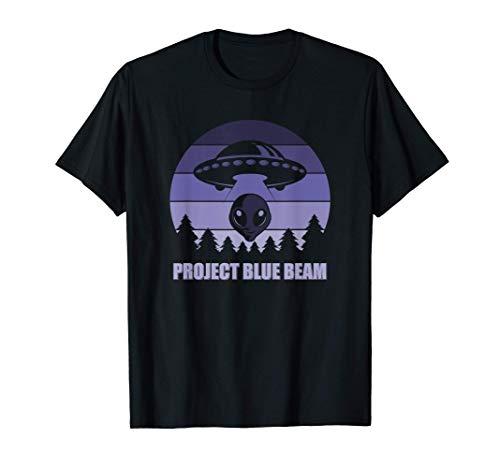 Project Blue Beam - Alien Conspiracy Theory T-Shirt