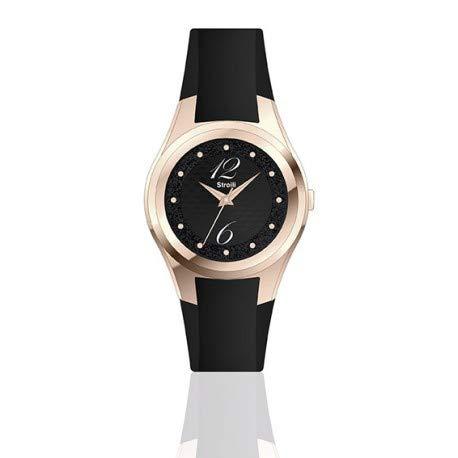 stroili orologio in silicone nero 1663878