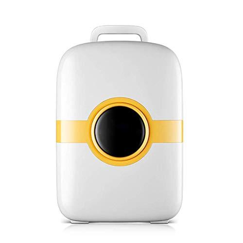 HRRF Mini Nevera, 18 litros Portátil Mini refrigerador refrigerador y más cálido, congelador Super Tranquilo para automóviles, Oficina
